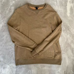 Brown H&M Crewneck Sweater